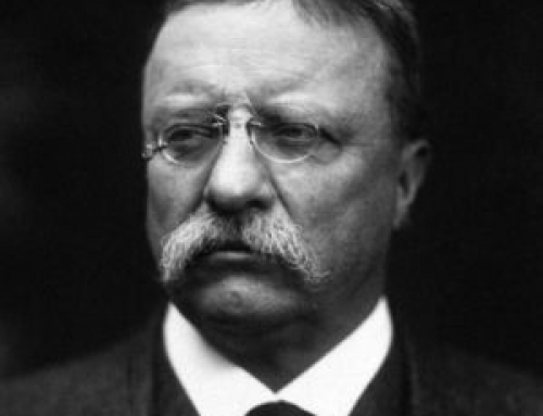 .Quoted: Theodore Roosevelt